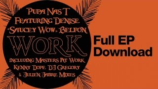 "Pupa Nas T Ft. Denise ""Saucey Wow"" Belfon - Work (DJ Gregory & Julien Jabre Work The Dub)"