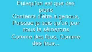 SAEZ - Jeune Et Con (Lyrics/Paroles)
