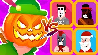 Bowmasters - Legendary Tournament Funny Troll Gameplay Walkthrough iOS/Android