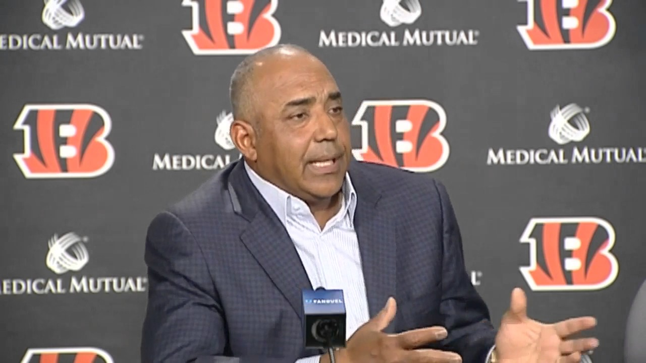 Marvin Lewis discusses Bengals 1st Round NFL Draft pick - YouTube