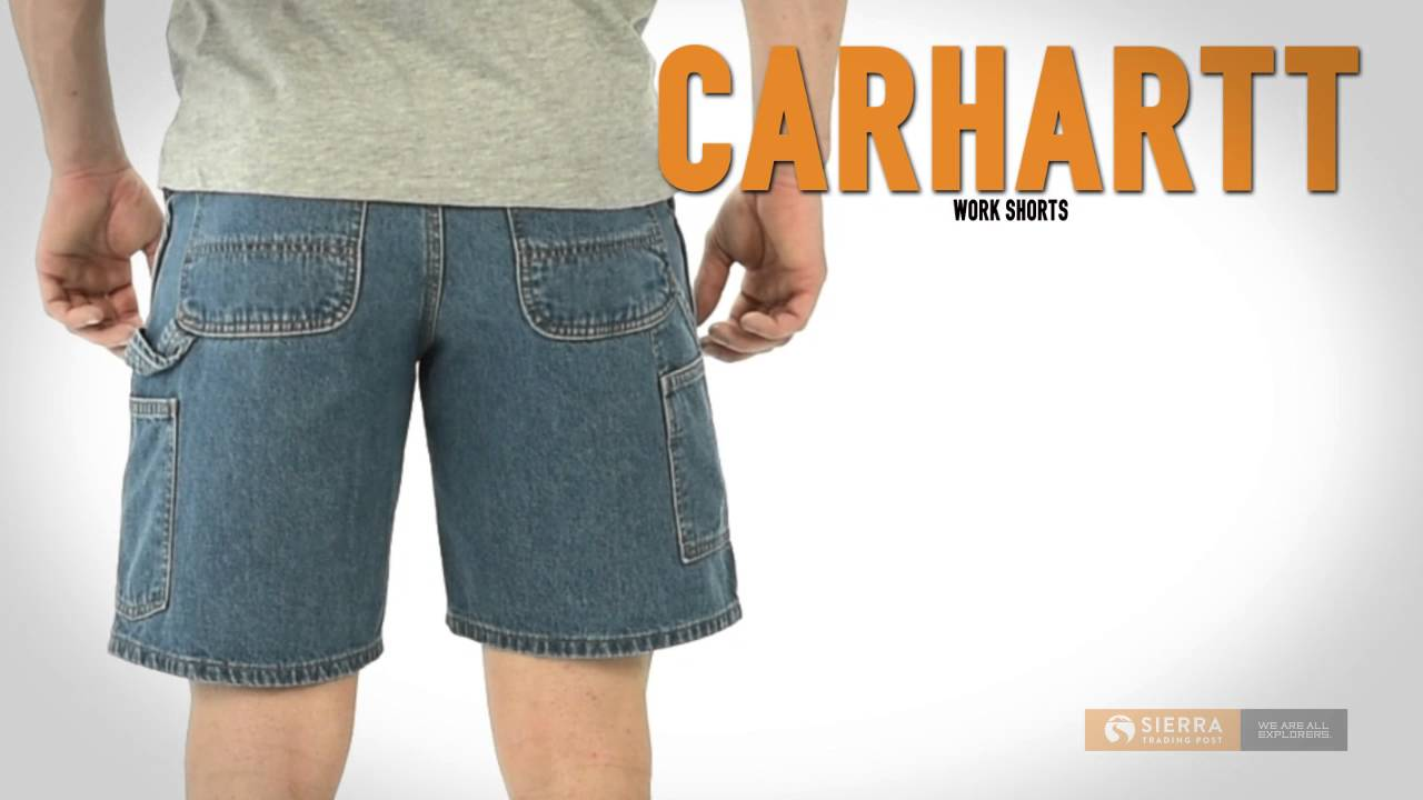 best price size 40 new style Carhartt Work Shorts - Denim (For Men) - YouTube