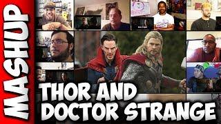 THOR: Ragnarok DOCTOR STRANGE Trailer Reaction Mashup
