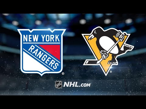 Penguins top Rangers for fourth straight win