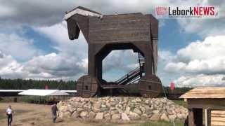 Największy Koń Trojański - 2013-08-28 - www.LeborkNEWS.pl