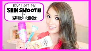HOW I GET MY SKIN SMOOTH FOR SUMMER! | Blair Fowler Thumbnail