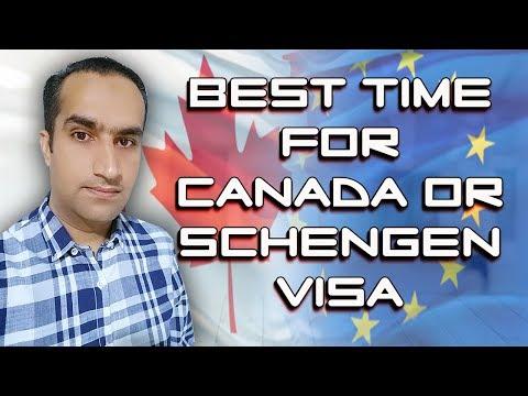 Good News Best Time To Get Schengen Or Canada Visa On Tourist Base
