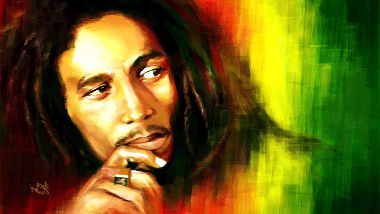 Wallpaper Bob Marley One Love With Download By High Resolution Of ...