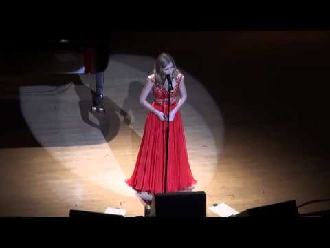 Jackie Evancho Sings Lovers And Ave Maria