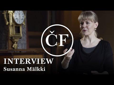Susanna Mälkki: interview (Česká filharmonie)