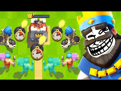 TROLL DECK Only *CHALLENGE* In Clash Royale