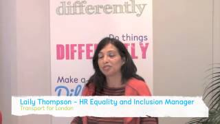 Why are Transport for London taking part in National Inclusion Week?