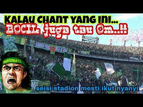 Chant Legendaris Bonek menggema saat Duel Panas Persebaya vs Arema   Stadion GBT sby
