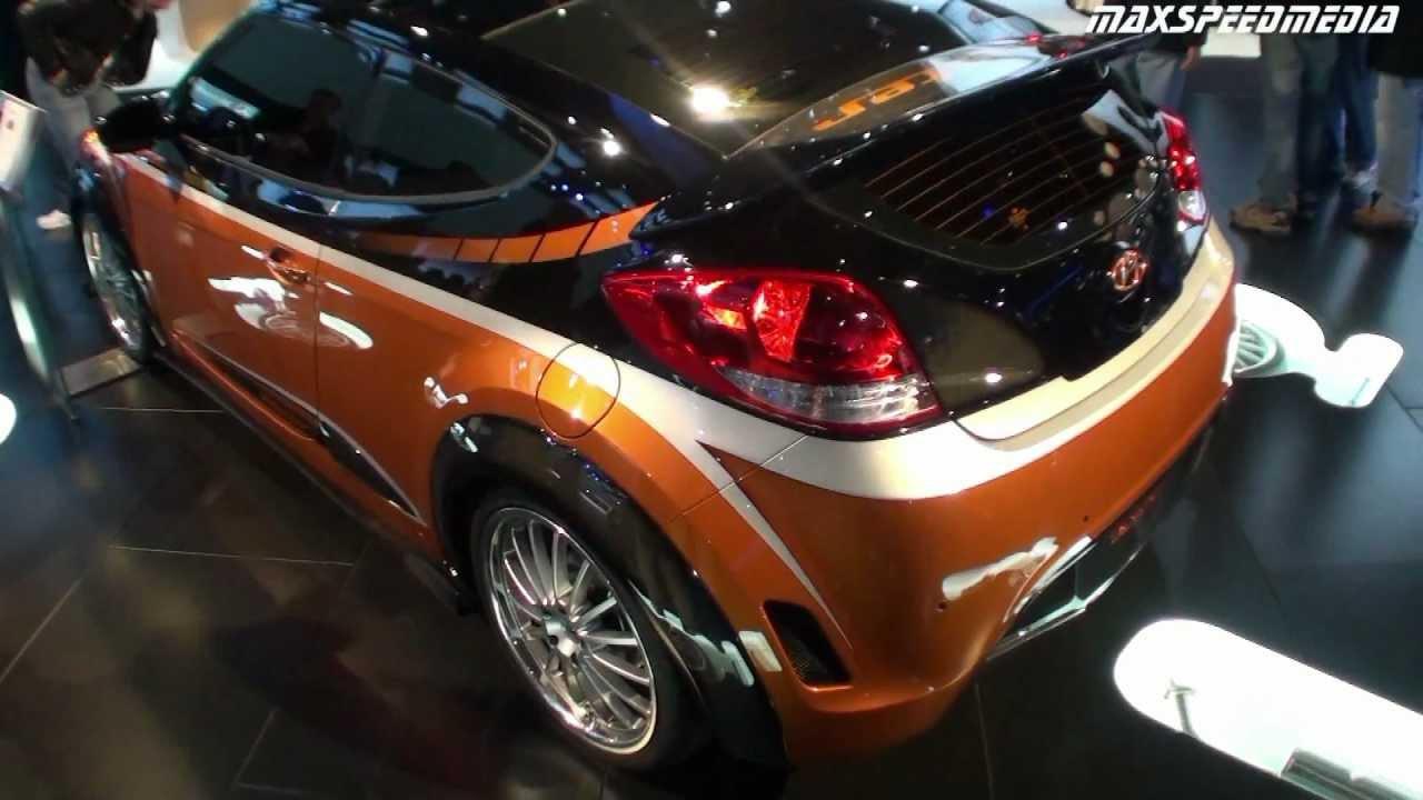 2012 Hyundai Veloster Turbo Custom And Stock Youtube