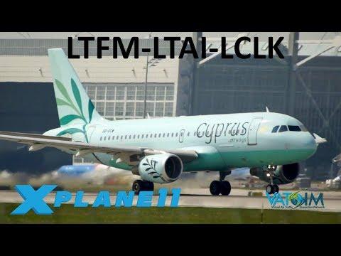 X-Plane 11 | Airbus Love Toliss Beta 1 3 2!! | A319 | VATSIM | Istanbul,  Antalya & Cyprus!!