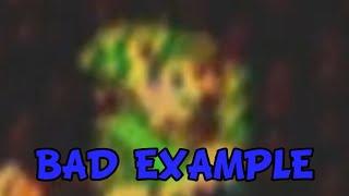 GameGrumps: Okay Bad Example/Zelda II Walk Through Walls Glitch