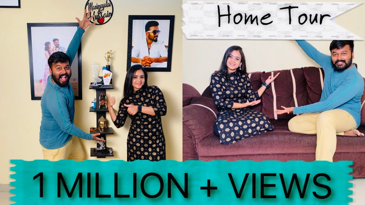Home Tour | Welcome to our Home 😎 | Hussain Manimegalai