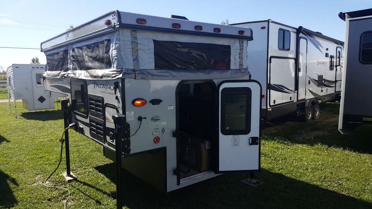 2018 Palomino Backpack SS500 Truck Camper @ Camp-Out RV in Stratford