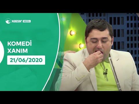Komedi Xanım (6-cı Bölüm ) 21.06.2020