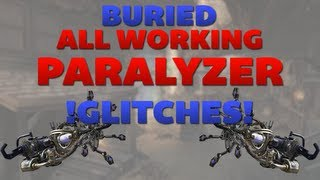 Black Ops 2 Zombie Glitches: Buried Glitches - All Working Paralyzer Glitches