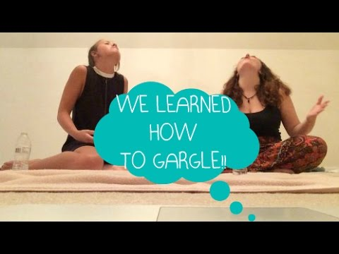 WE LEARN TO GARGLE | Sydney + Jayme