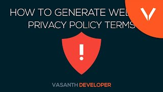 How To Make Privacy Policy For Your Website | Privacy Policy Explained!