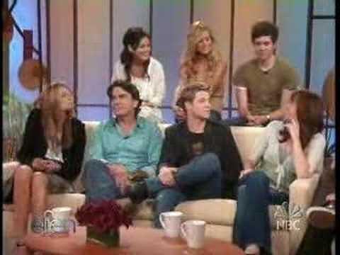 Adam Brody in Ellen with the OC Cast