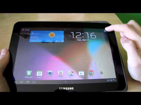 Samsung Tab 8.9 - 4.0.4 (ICS)