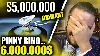 6.000.000$ RING 🤯💍 + ICED OUT LEGO... 💎 | Marc Gebauer Highlights