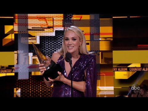Rich Lauber - Familiar Names Take Home The American Music Awards For Country Music!