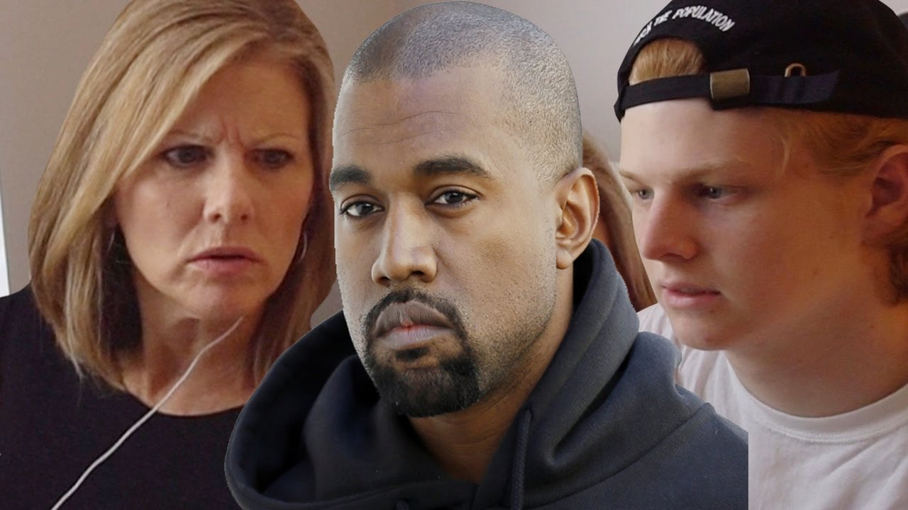 Mom reacts to Kanye West @kanyewest