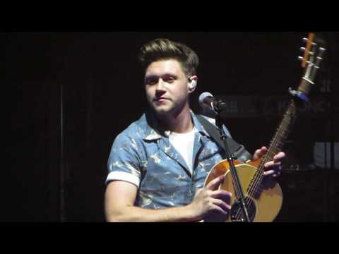 Niall Horan Saying Hello To Boston - Orpheum Theatre 11/3/17