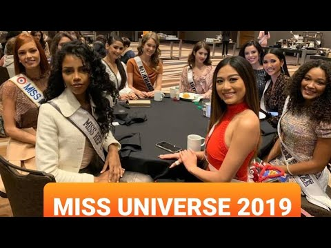 MISS UNIVERSE 2019|Day 1 At Atlanta Georgia USA