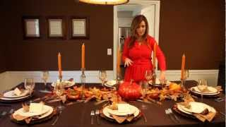 Dress Your Table For Thanksgiving