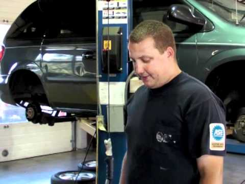 How To install new front brakes on a chevy truck - YouTube