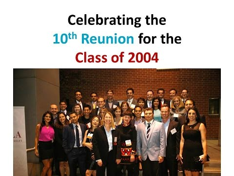 Loyola Law School's Class of 2004 Celebrates its 10th Reunion