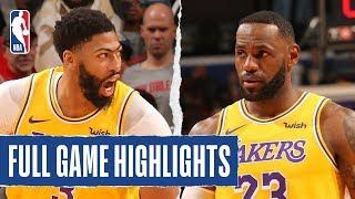 Lakers At Pelicans | Full Game Highlights | November 27, 2019