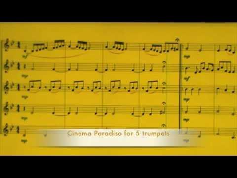 - Cinema Paradiso - for 5 trumpets - Paolo Trettel