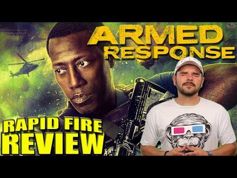 Armed Response (2017) | Rapid-Fire Review | Wesley Snipes & Anne Heche