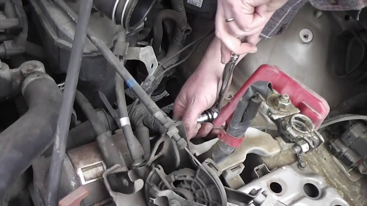 how to replace a starter motor in a 1996 toyota camry youtube ford 1995 toyota avalon xls how to replace a starter motor in a 1996 toyota camry
