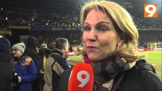 Helle Thorning-Schmidt på Brøndby Stadion - CANAL9