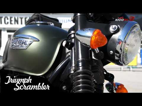 Triumph Scrambler Test - High Bike Ischgl