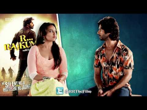 Follow Sonakshi Sinha & Shahid Kapoor on twitter - R...Rajkumar