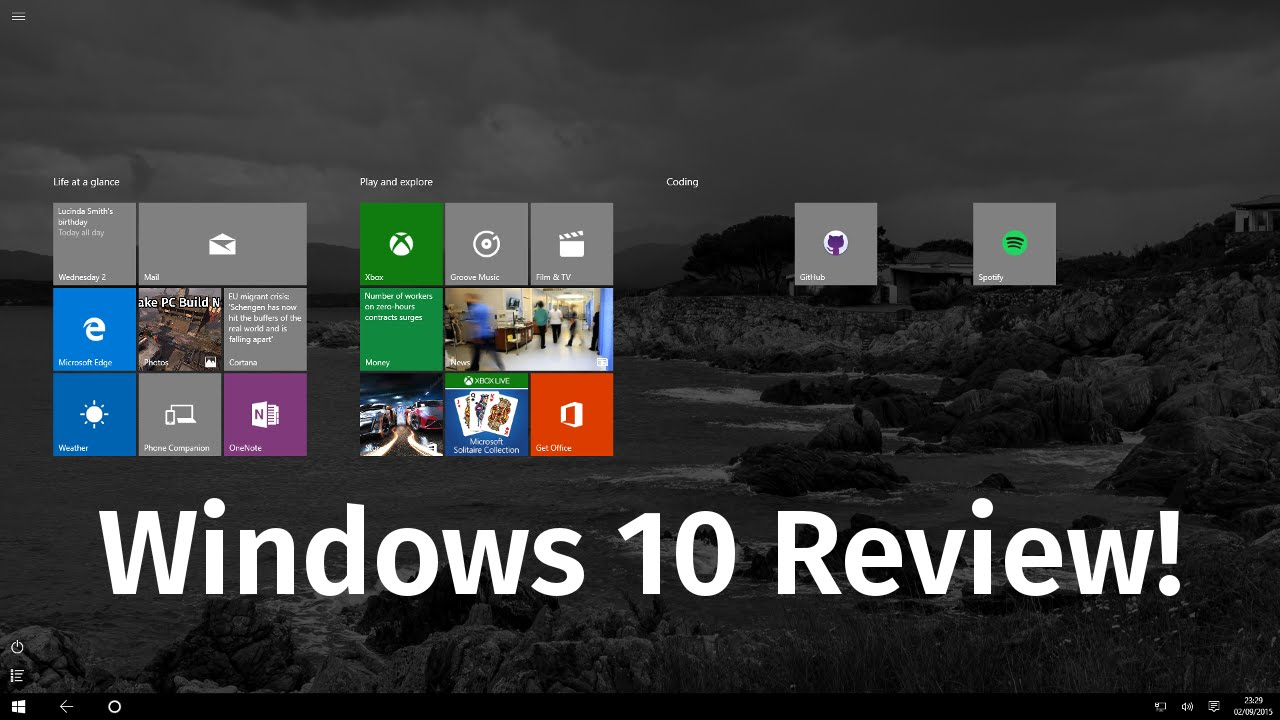 Windows 10 Review - Should You Upgrade?
