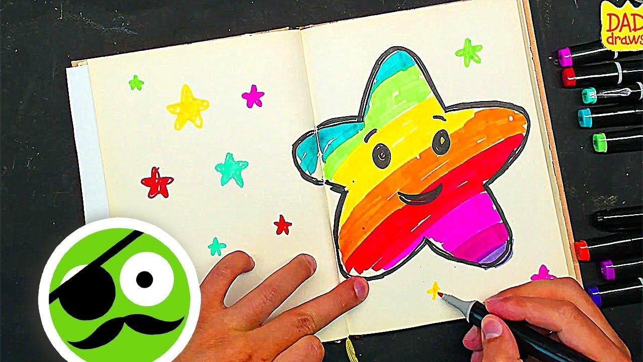 How To Draw Star Rainbow Ideas Bullet Journal Notebook Diys