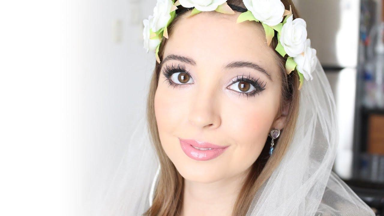 Maquillaje De Novia Romntica Usando La Paleta Naked 3