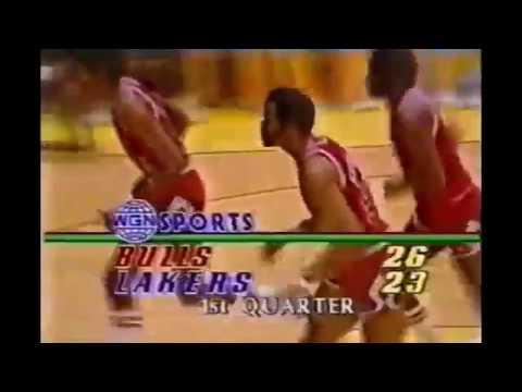 Artis Gilmore vs Lakers 1982