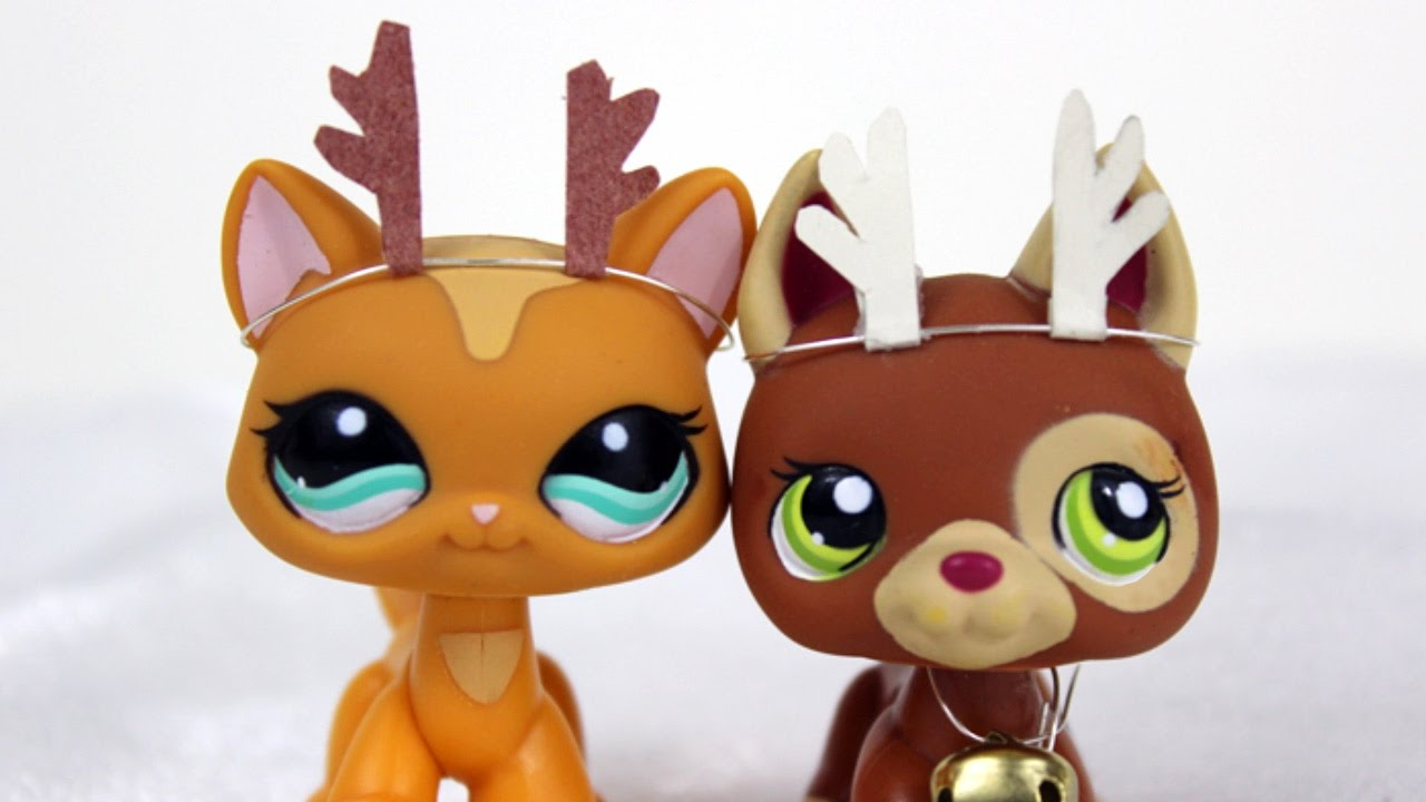 Diy Accessories How To Make Lps Reindeer Antlers Youtube