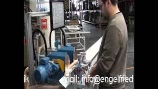 Strima Wegoma Doppelglasleistensaege 2750 Video Engelfried(www.engelfried.com - neue u. gebrauchte Holzbearbeitungsmaschinen - new and used woodworking machines nowych i uzywanych urzadzen i maszyn do ..., 2015-06-25T12:50:52.000Z)