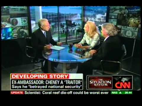 Joseph and Valerie Plame Wilson interview from Situation Room