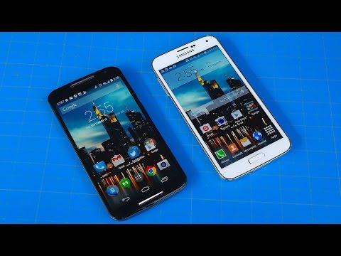 Moto X (2014) vs Galaxy S5